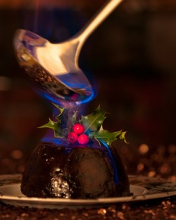 What's the best wine to drink with Christmas pudding?