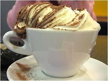 Βιεννέζικος καφές.