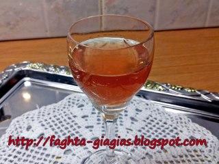 Λικέρ Κυδώνι κόκκινο - από «Τα φαγητά της γιαγιάς»