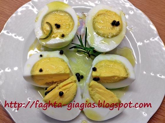 Αυγά βραστά τουρσί - από «Τα φαγητά της γιαγιάς»